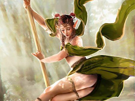 The Elven dancer