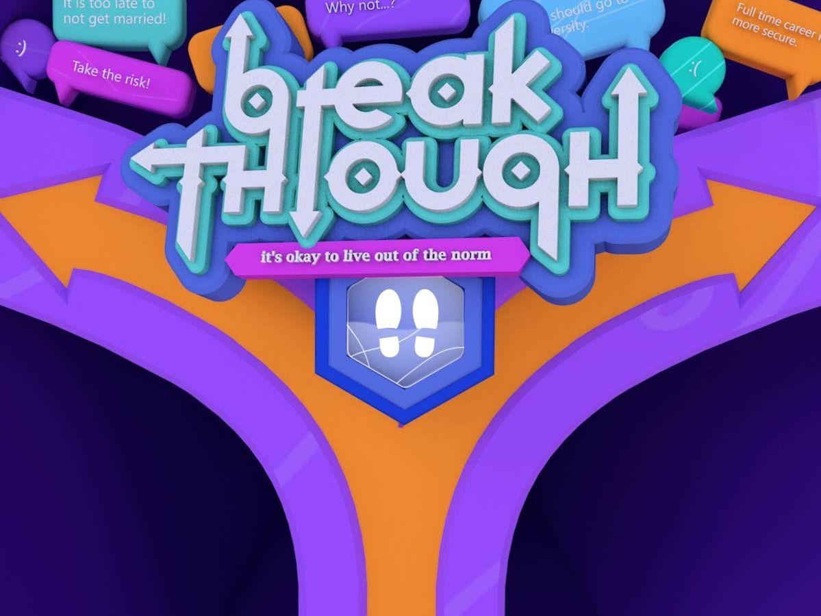 Breakthrough   Interactive Floor Projection