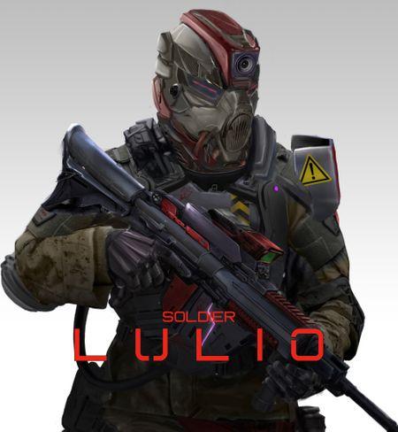 desert soldier '' LULIO project ''
