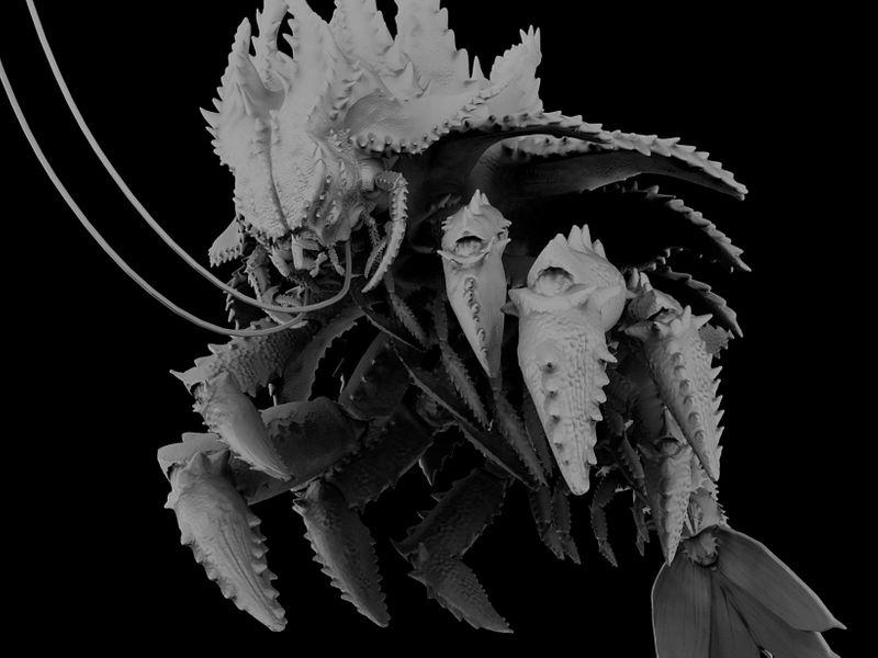 Kaiju Sculpt - Sketchfab Sep2020 Challenge