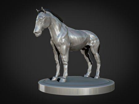 Digital Horse sculpt