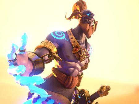Genie Character sculpt