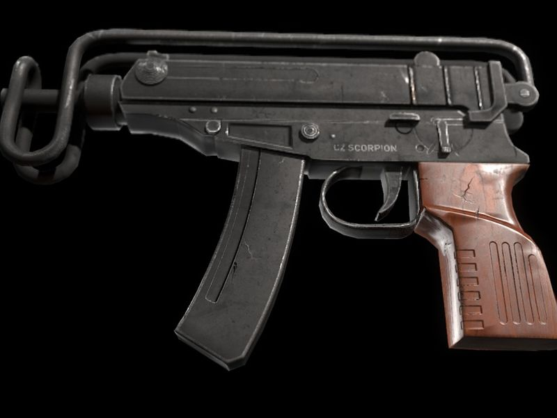 Scorpion VZ61 sub machine gun