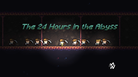 The 24 Hours in the Abyss || 2D Survival-horror Platformer