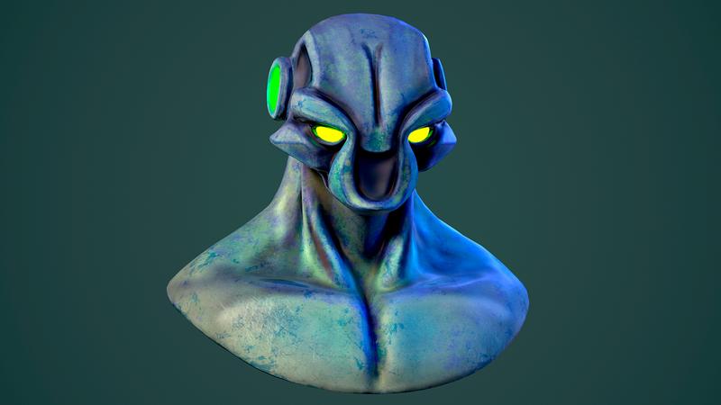 Creature Bust - Concept