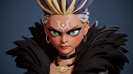 Blaze - Stylized Character