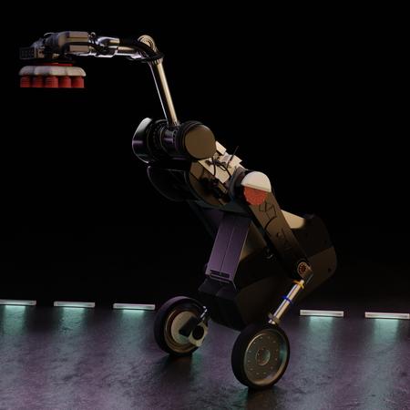 Handle Robot by Boston Dynamics