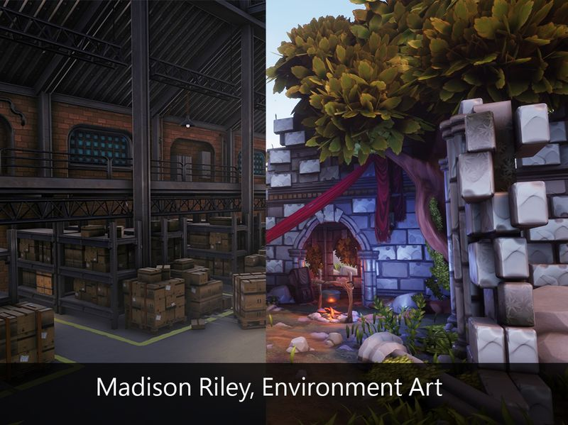 Madison Riley - Environment Art submission 2020