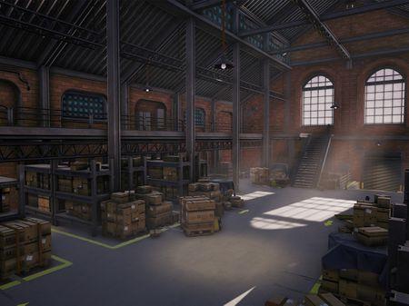 Stylised Warehouse