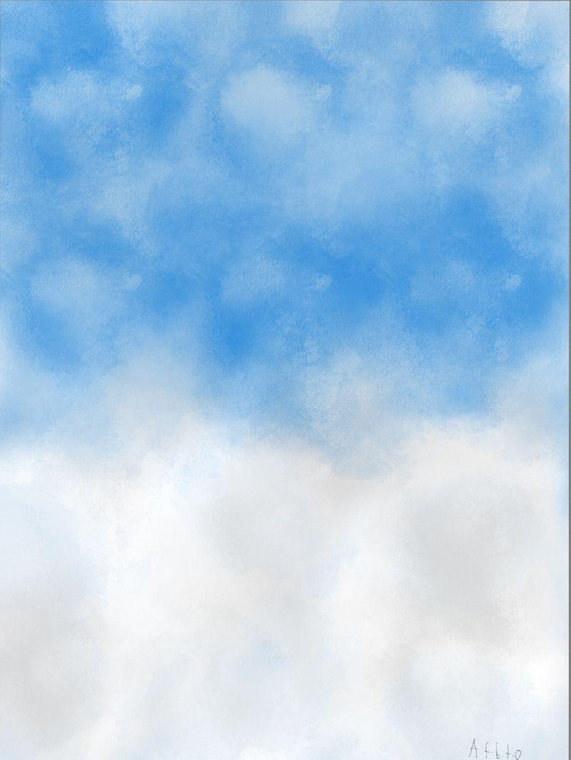 Sky art.