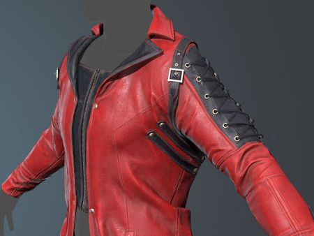 Devil May Cry inspired Trenchcoat
