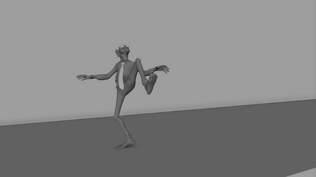 The Old Mime - 3D Animation (2020)