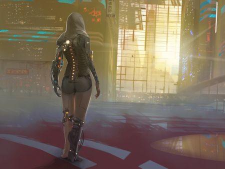 Cyberpunk environment