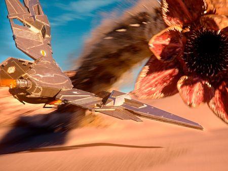 Dune - The Mighty Sandworm