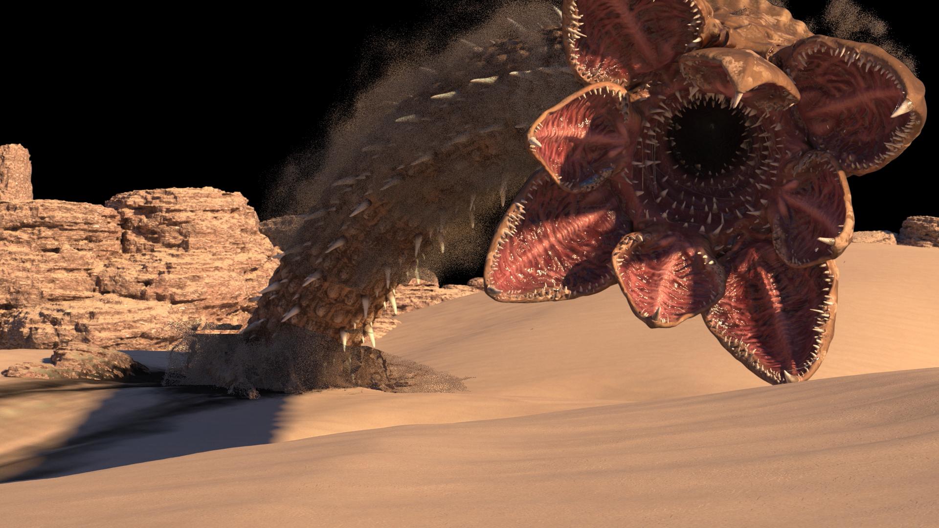 Sandwurm Dune