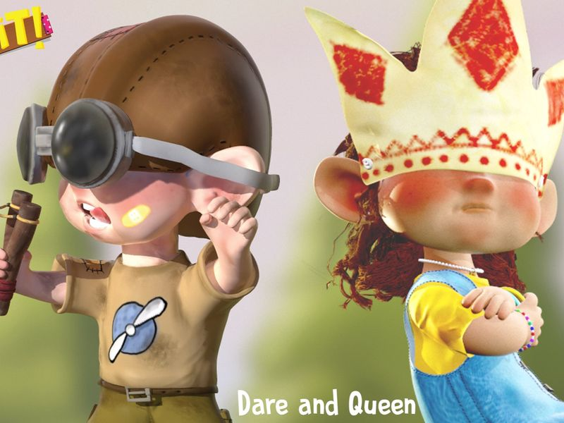 Cordelia Queen and Ethan Dare  :D and an App :P