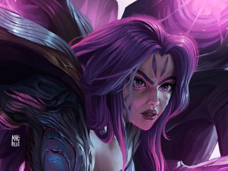 Kai'Sa - Daughter of the Void (fanart)