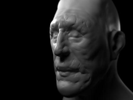 Male Sculpture Study