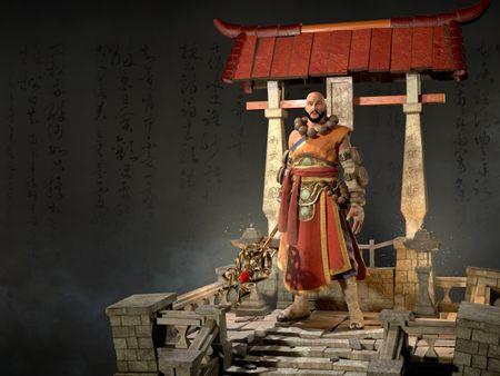 Monk of Ivgorod from Diablo III