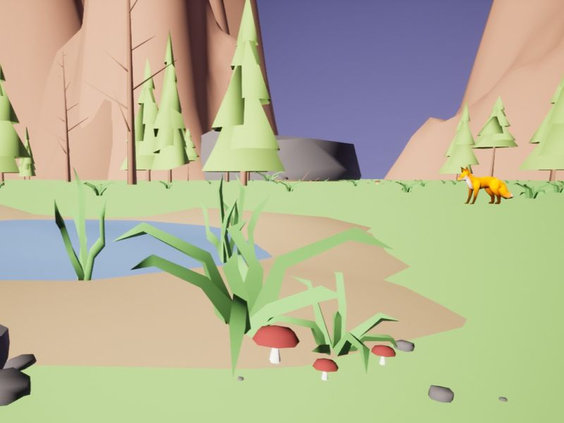 Lowpoly Forest