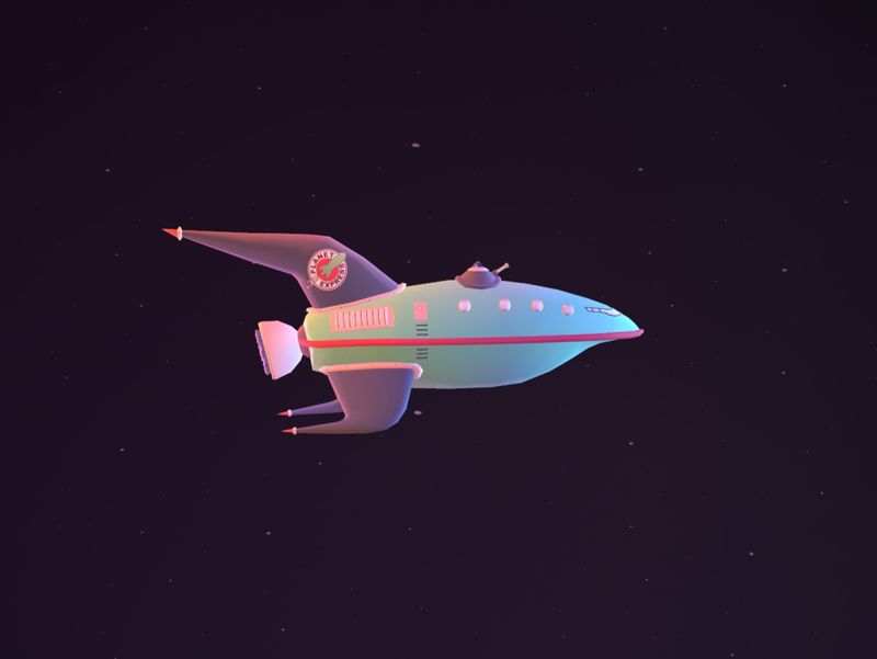Planet Express Ship, Futurama