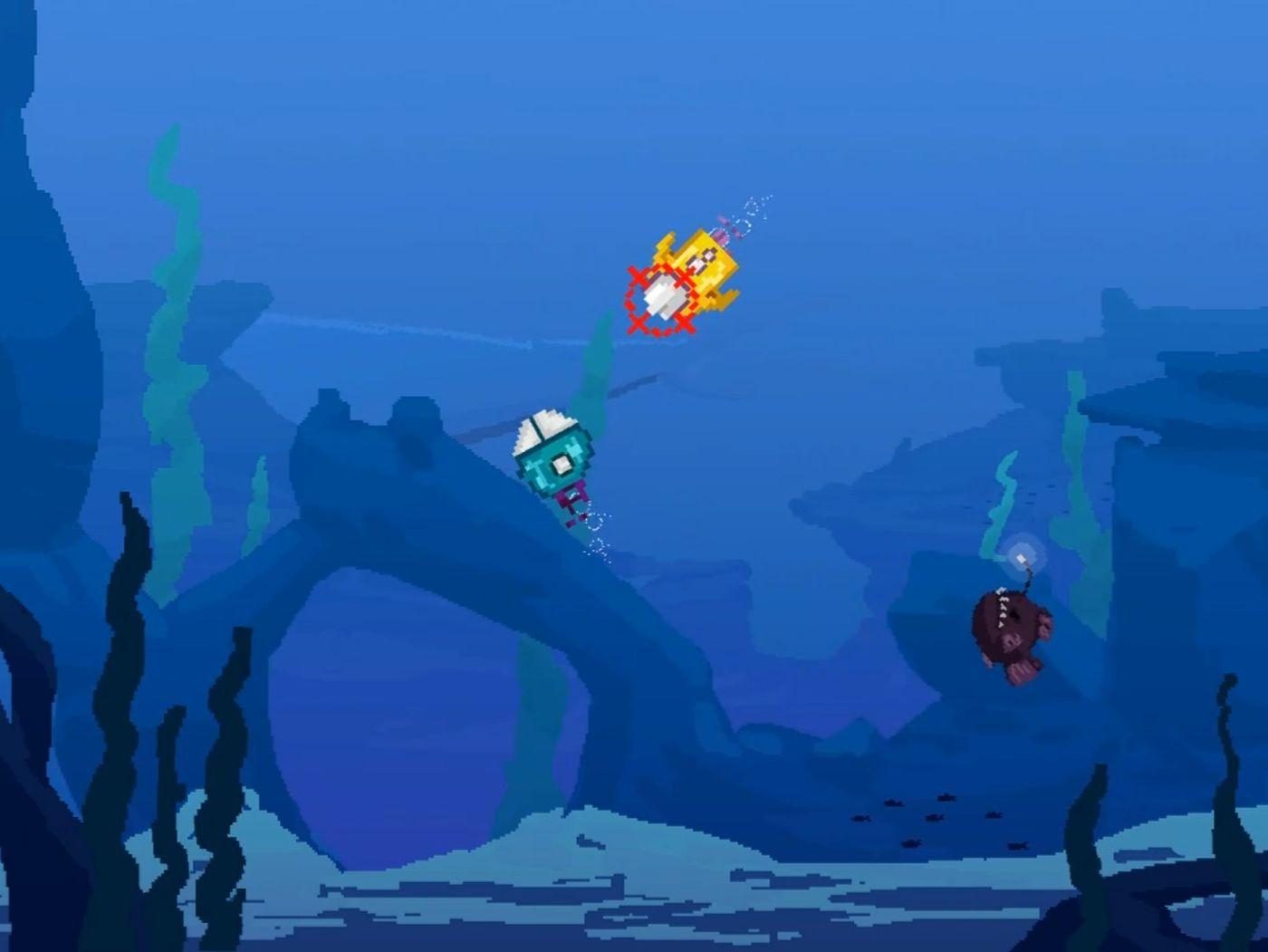 Subrawl - a retro game mashup
