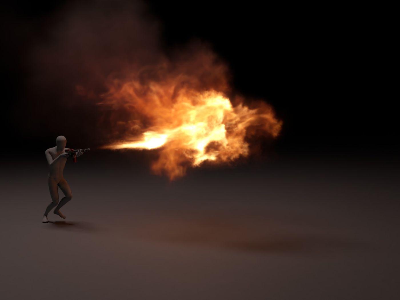 Sparse Flamethrower