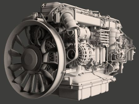 Scania AB DC13 166 Engine