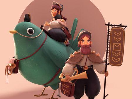 Royal Gnome Mail [Rider & Footman]