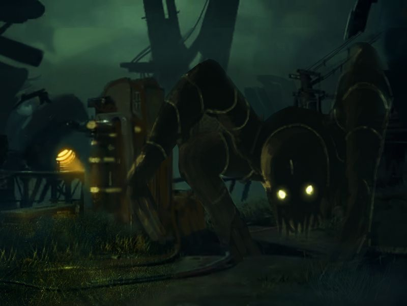Dark Monster :- Concept Environment Art
