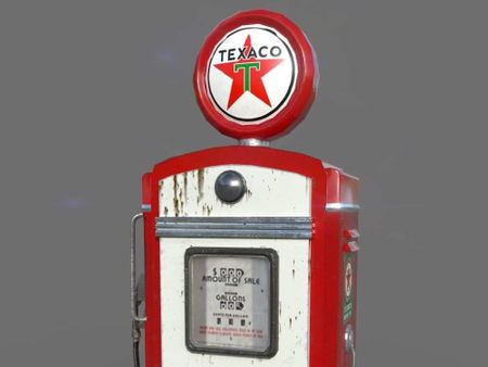 Old pump gas