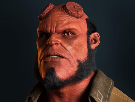 Hellboy - Portrait