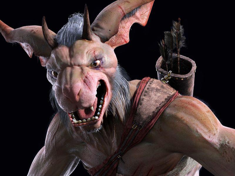 KOBOLD, Realistic Creature
