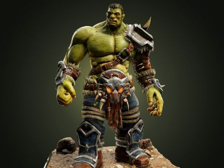Game Ready Orc Character