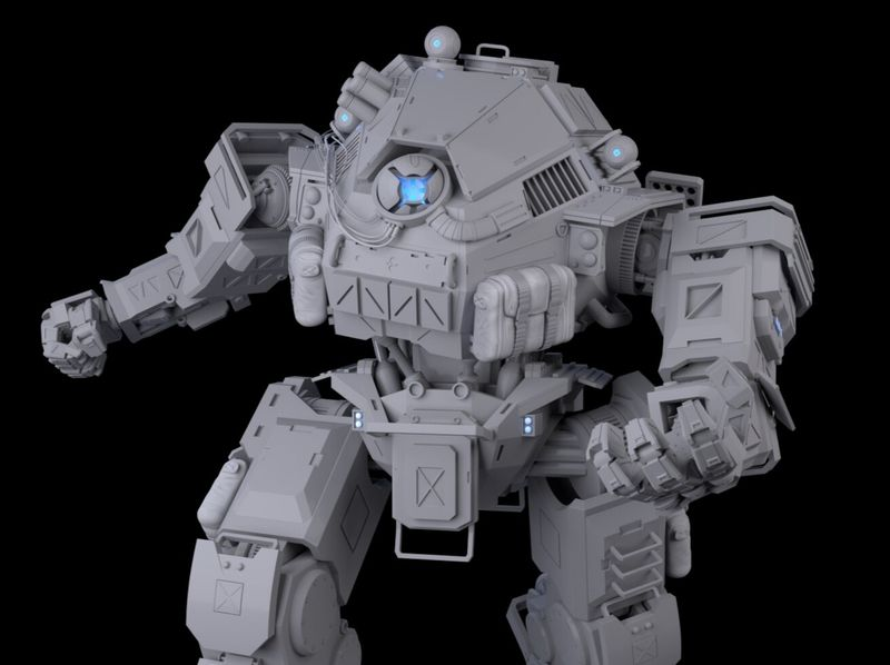 Ion Titan - Titanfall2 Fanart