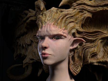 Elf Female Character