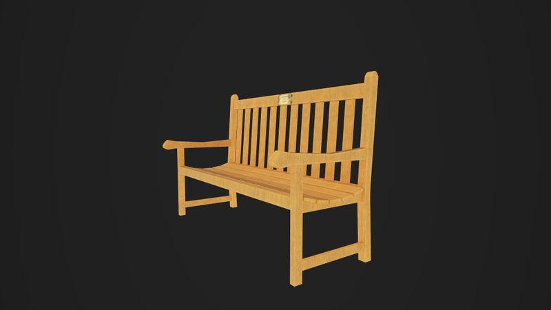Bench- Last Christmas