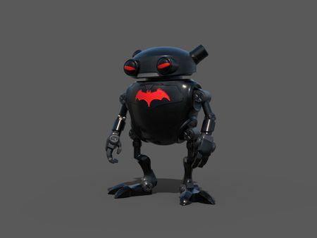 Eddie's suit batman