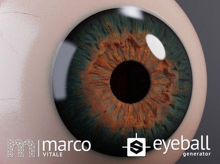 Procedural Eyeball - Generator