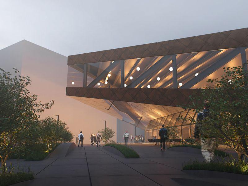 COworking building design. Spain