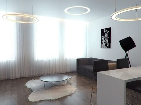 Low res Interior Design visualization.Lithuania
