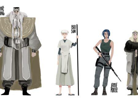 Character design portfolio