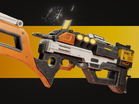 Stylised SF-Gun