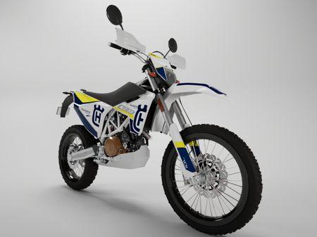 Husqvarna 701 Enduro - Motorcycle