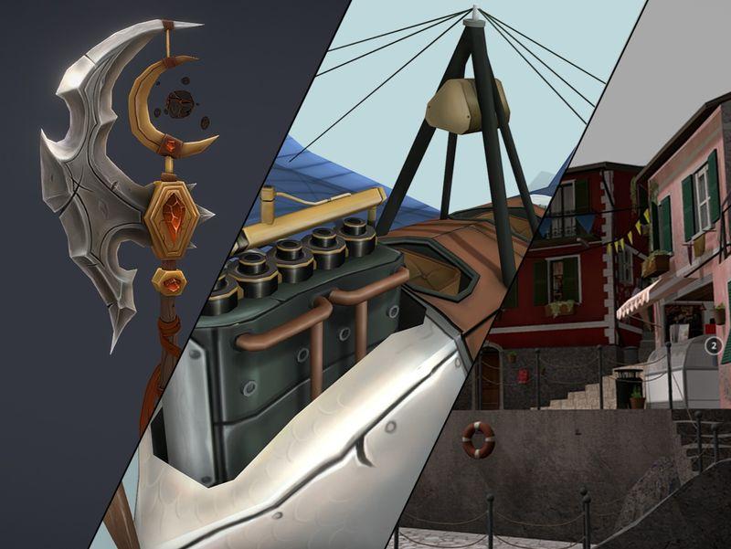 3D Game Art portfolio