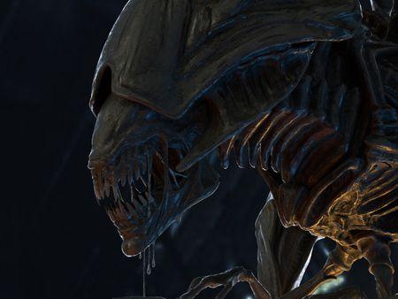 Aliens - Xenomorph Queen Fanart
