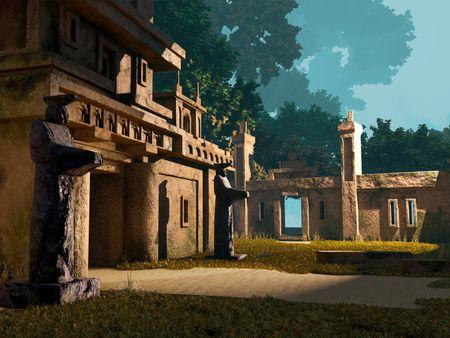 Ruins Environment