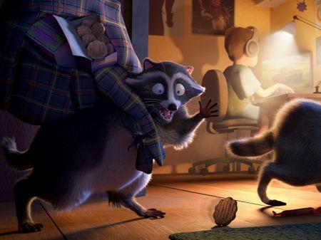 Inglorious Raccoons