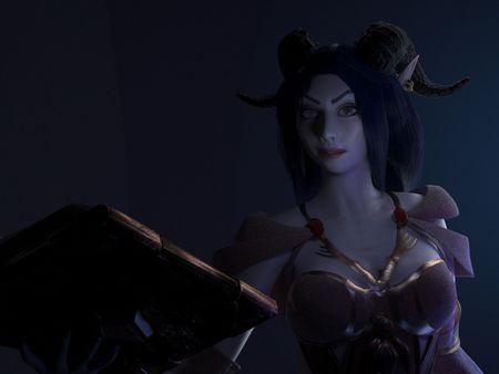 Lighting & Look Dev Practice | Kalestra the Sorceress