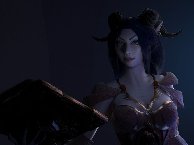 Lighting & Look Dev Practice | Kalestra the Sorceress